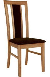 köksstol ek - populär stol i massiv oljad ek med dyna